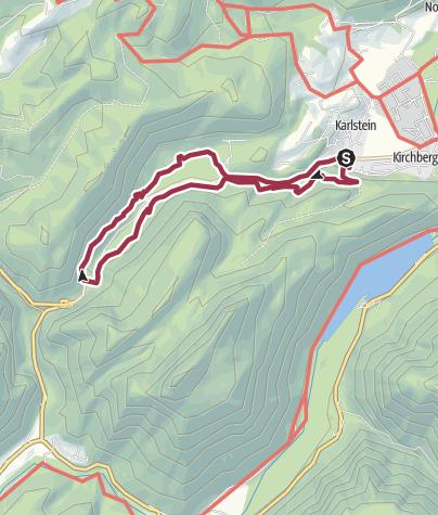 Karte / Gesundheitsweg Thumsee