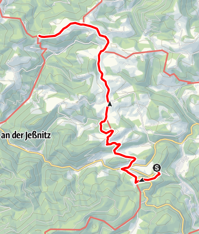 Karte / Winterbach - Schlagerboden