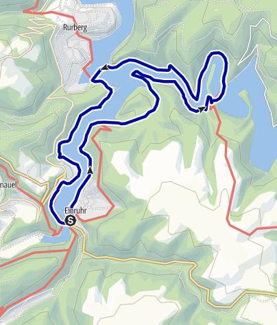 Karte / Oberseerandweg