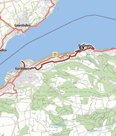 Map / Adolf-Dietrich-Kunstroute Berlingen