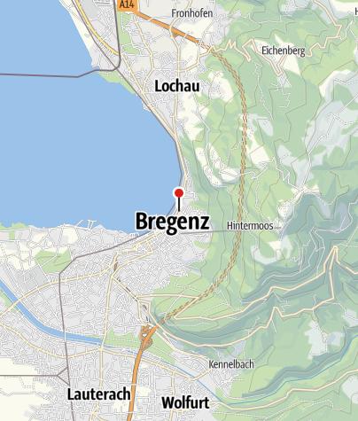 Karte / Vorarlberger Militärmuseum