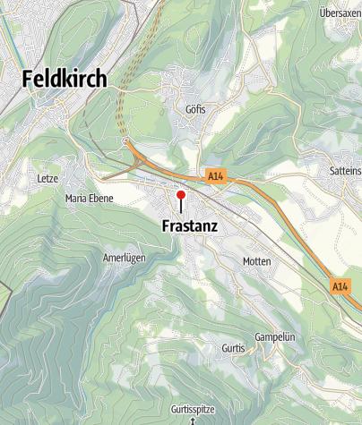 Karte / Vorarlberger Museumswelt