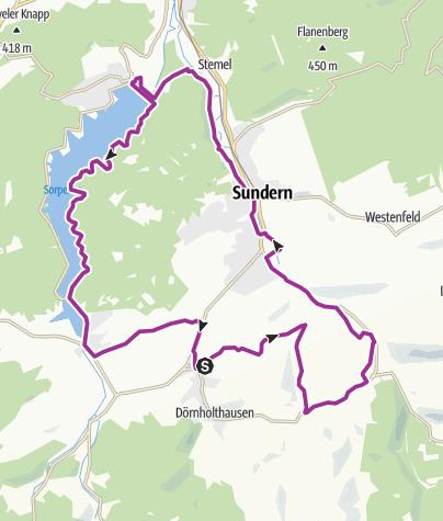 Karte / Sauerländer Siebengebirge