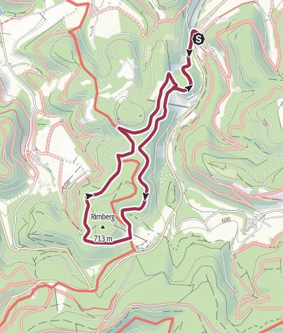 Karte / Rundweg um Gellinghausen (G3)