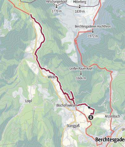 Karte / Maximilians Reitweg