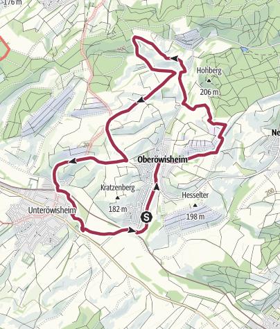 Karte / Kraichtaler Hügelland