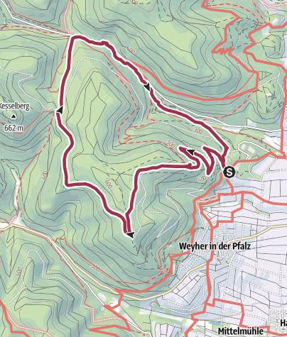 Karte / Auf den Spuren König Ludwigs