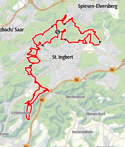 Karte / Die Pur - Nord-West-Schleife