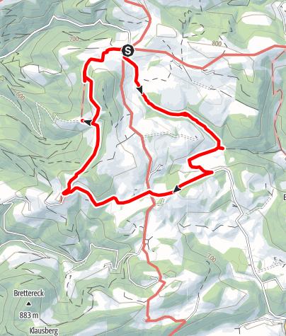 Karte / Fuchs Sagenwanderweg