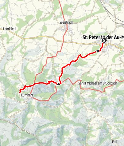 Karte / St. Peter - Kaiserin-Elisabeth-Warte