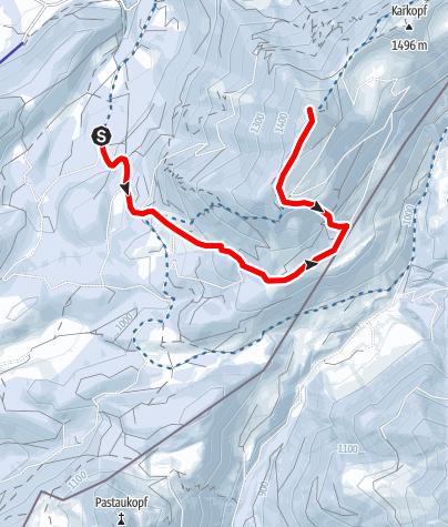 Karte / Schneeschuh:Feichteck im Chiemgau