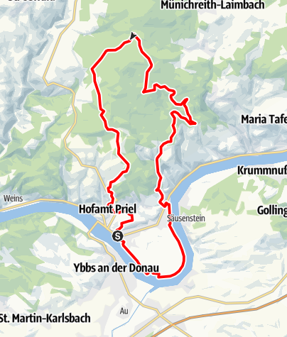 Karte / Sulzberg-Strecke