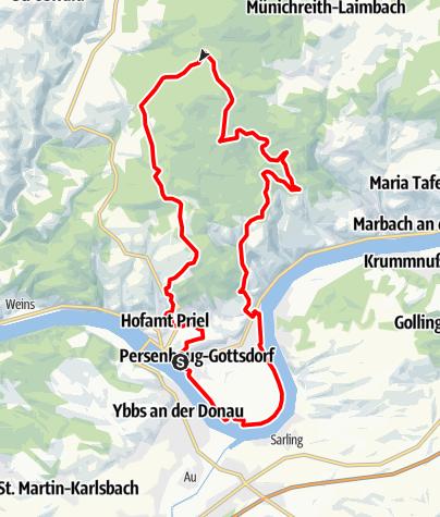 Térkép / Sulzberg-Strecke