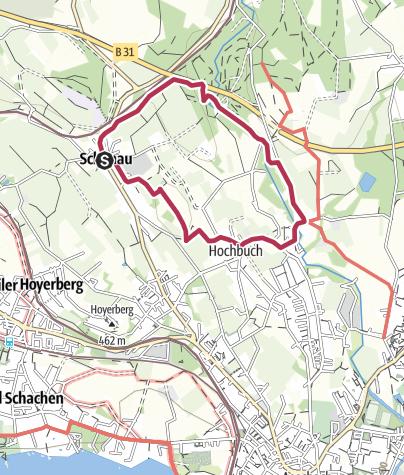 Karte / Lindau RW2 Um den Entenberg