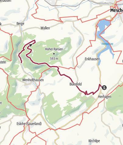 Karte / Esloher Grenzgänger - 3. Etappe