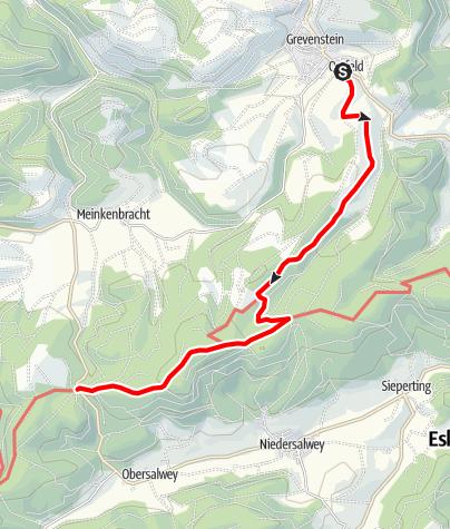 Karte / Esloher Grenzgänger - 5. Etappe