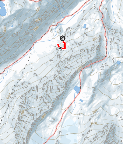 Karte / Sommerwand-Klettersteig