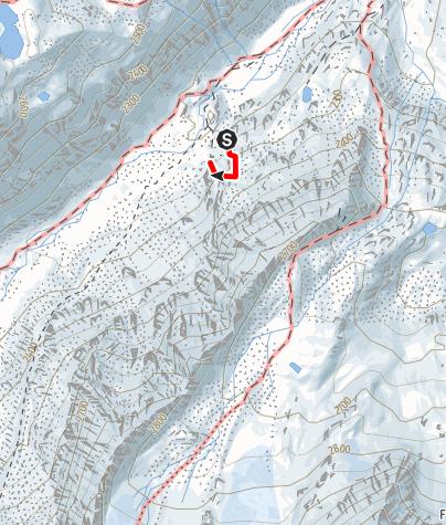 Carte / Sommerwand-Klettersteig
