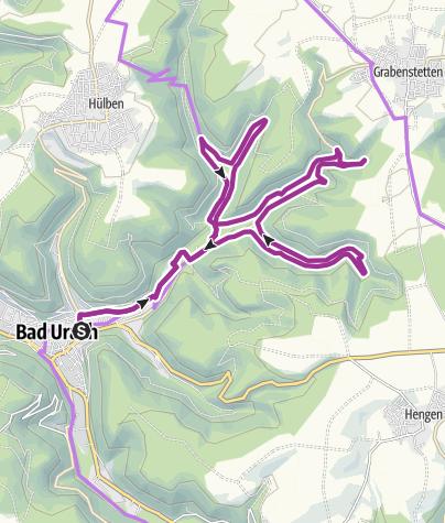 Karte / Pfähler Tal und Falkensteiner Höhle
