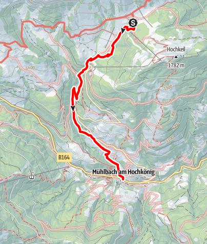 Karte / Geotrail: Erzweg Mühlbach