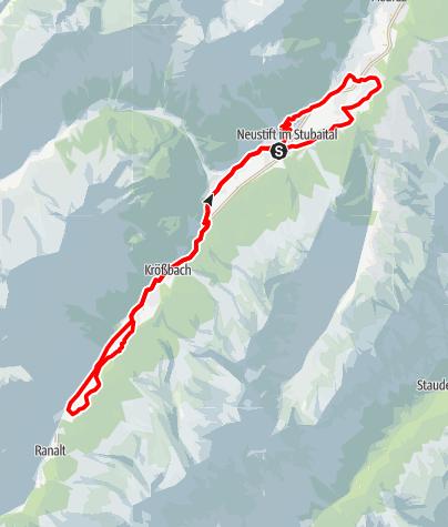 Karte / Elektrofahrradtour Talrunde