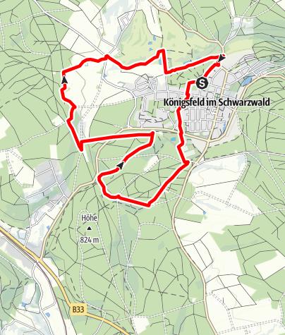 Karte / 1 Rotwald-Bregnitzweg