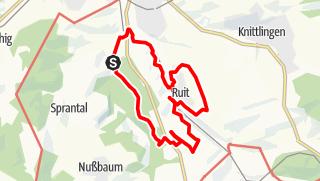 Karte / Rundweg Bretten Süd