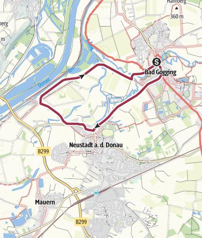 Map / Bad-Gögging Fischereilehrpfad
