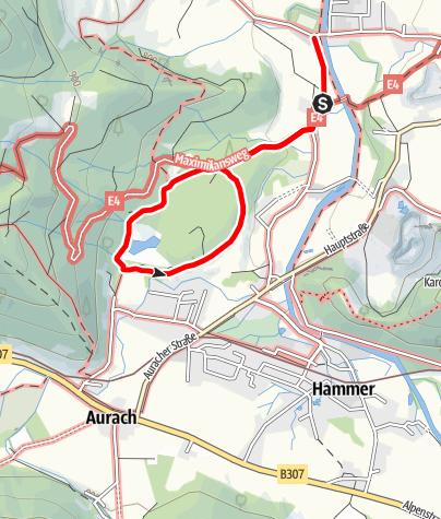 Karte / Fischbachauer Märchenwald