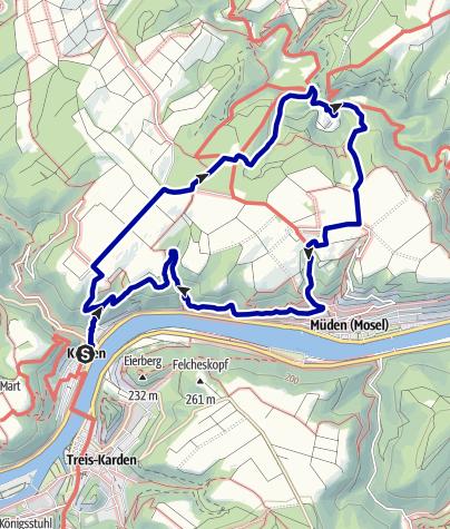 Karte / Der Buchsbaum-Wanderweg