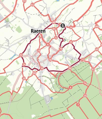 "Karte / ""Wiesenwege"" Raeren"