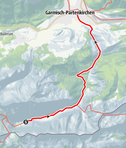 Map / Zugspitztour TAG 3