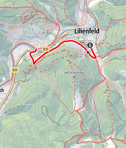 Karte / Pater Exinger Weg