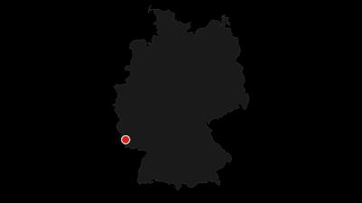 Kaart / Stausee Tafeltour