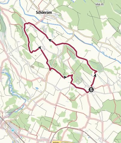 Karte / Engelhammer Weg