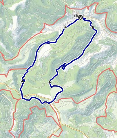 Karte / Baiersbronner Himmelsweg: Genießer-Tour