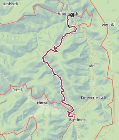 Karte / Seensteig - Etappe 5: Die Krönung zum Schluss