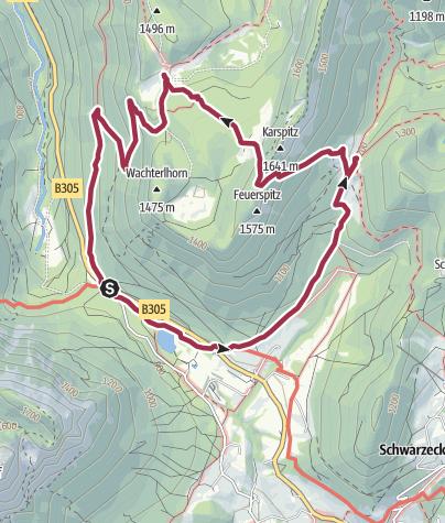 Karte / Almerlebnisweg Ramsau