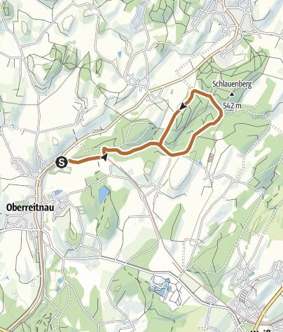 Karte / Lindau R3 Oberreitnauer Runde