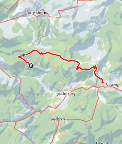 Map / Gösing Wastl am Wald - Hennesteck - Annaberg