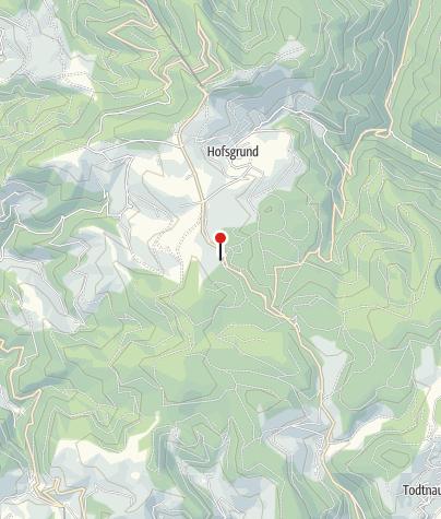 """Karte / Ski- und Sommerhütte """"Auf der Alm"""""""