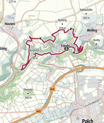 Karte / Traumpfad Nette-Schieferpfad
