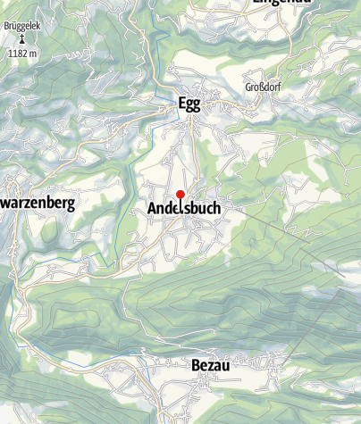 Karte / Andelsbuch   Gasthof Löwen