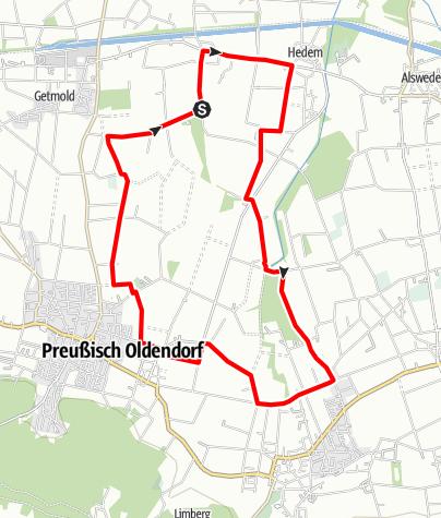 Karte / Rad-Rundwanderweg R 11