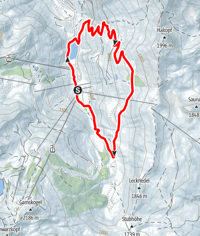 Karte / Strims-Rundweg Nordic Walken