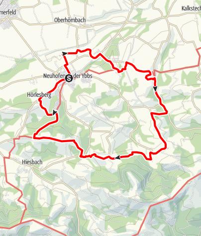 Mapa / Königshufenweg