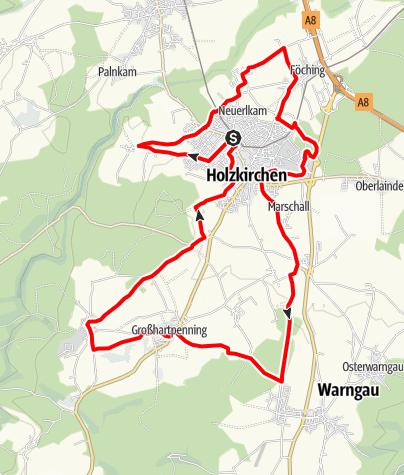 Karte / Holzkirchner Abendrunde