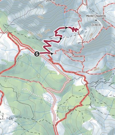 Map / 24 RIFUGIO CALVI - Sappada