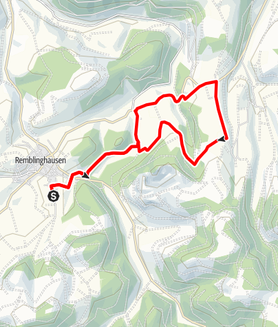 Karte / Rundweg um Remblinghausen (Rh4)
