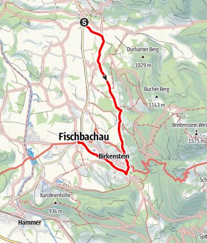Karte / Wendelstein Ringlinie: Fischbachauer Kirchen Tour